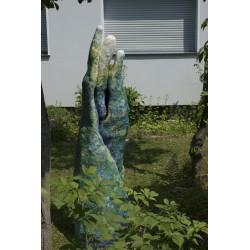 Spriess 170504, epoxy resin, 160 x 40 x 40 cm, unique